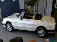 1988 Alfa Romeo Spider Veloce for Sale