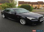 2007 BMW 525D M SPORT A BLACK for Sale