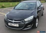 2013 Vauxhall Astra 1.6i 16V SRi 5 door Auto Petrol Hatchback  1598cc for Sale