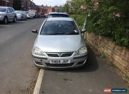 2004 VAUXHALL CORSA LIFE TWINPORT SILVER for Sale