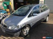 2005 VAUXHALL ZAFIRA DESIGN 1.6 16V SILVER for Sale