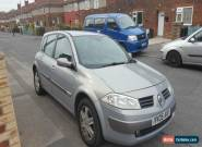 Renault Megane 2005 1.6 petrol spares or repair no reserve for Sale