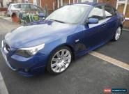 2007 BMW 530D M SPORT AUTO IN BLUE for Sale