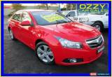 Classic 2010 Holden Cruze JG CDX Red Manual 5sp M Sedan for Sale