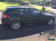 2007 BMW 118I M SPORT AUTO BLACK for Sale