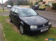 VW Golf 1.6 MK4 - Spares or Repair for Sale