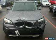 2011 BMW X1 SDRIVE 2.0D SE AUTO GREY.SPARES OR REPAIRS,UNRECORDED,FINANCE REPO for Sale