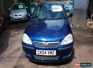 2004 VAUXHALL CORSA SXI 16V BLUE for Sale