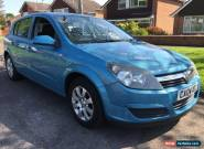 2004 VAUXHALL ASTRA CLUB 1.6 5 door  BLUE for Sale