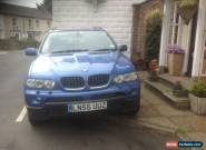 2005 BMW X5 SPORT D AUTO BLUE for Sale