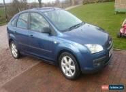 2005 FORD FOCUS SPORT BLUE FSH & 12 month MOT for Sale