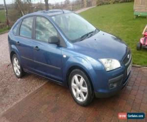 Classic 2005 FORD FOCUS SPORT BLUE FSH & 12 month MOT for Sale