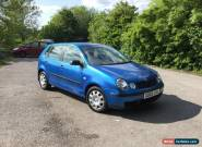 2003 vw polo 1.2 new mot, low miles, 4 door, good cheap first car  for Sale