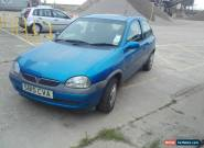 1999 VAUXHALL CORSA BREEZE 12V BLUE for Sale