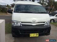 Toyota Hiace 2010 SLWB Turbo diesel excellent for work for Sale