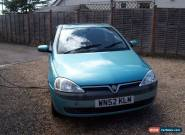 2002 VAUXHALL CORSA ELEGANCE 16V 5DR for Sale