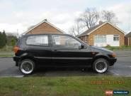 1999 VOLKSWAGEN POLO 1.0 L 6N2 BLACK for Sale