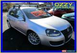 Classic 2008 Volkswagen Golf 1K MY08 Upgrade GT Sport TSI Silver Manual 6sp M Hatchback for Sale