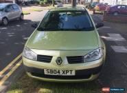 2004 Renault Megane 1.4 16v Extreme 3dr for Sale