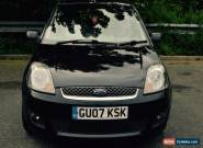 Ford Fiesta Zetec Climate 1.2 2007 Black for Sale