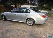 2005  (55) BMW 525I SPORT AUTO SILVER for Sale