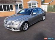 Mercedes-Benz C Class 2.1 C220 CDI Sport Diesel Automatic Silver  for Sale