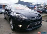 2011 Ford Fiesta WT Zetec Black Automatic 6sp A Hatchback for Sale