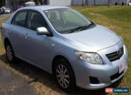 2007 Toyota Corolla Sedan - Roadworthy Certificate - AUTO for Sale
