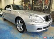 2003 Mercedes-Benz S350 W220 MY2003 Zircon Silver Automatic 5sp A Sedan for Sale