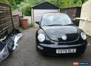 Volkswagen Beetle Breaking for Spares, Black 2.0 petrol Alloys leather interior for Sale