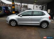2009 VOLKSWAGEN POLO 1.2 SE 60 SILVER LOW MILES  for Sale