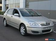 2005 Toyota Corolla ZZE122R Ascent Seca Silver Automatic 4sp A Hatchback for Sale