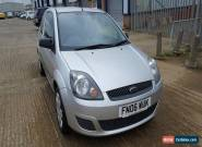 2006 06 REG FORD FIESTA 1.2 STYLE CLIMATE SILVER SMALL CAR for Sale