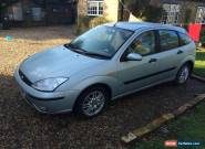 2003 FORD FOCUS LX TDCI SILVER GREEN 1.8L DIESEL for Sale