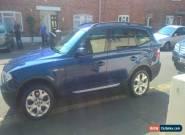 2005 BMW X3 SPORT AUTO BLUE for Sale