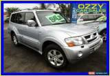 Classic 2006 Mitsubishi Pajero NP MY06 Exceed LWB (4x4) Silver Automatic 5sp A Wagon for Sale