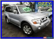 2006 Mitsubishi Pajero NP MY06 Exceed LWB (4x4) Silver Automatic 5sp A Wagon for Sale