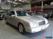 1997 Mercedes-Benz E320 W210 Avantgarde Silver Automatic 5sp A Sedan for Sale