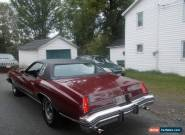 Chevrolet : Monte Carlo for Sale