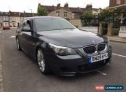 BMW 535D M SPORT 2009 AUTO GREY LCI UNRECORDED DAMAGE SALVAGE for Sale