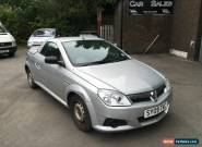 VAUXHALL TIGRA AIR 2009 1.4I ACCIDENT DAMAGED SILVER CONVERTIBLE for Sale