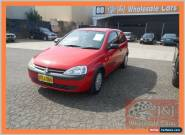 2002 Holden Barina XC Red Automatic 4sp A Hatchback for Sale