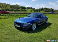 BMW Z4 COUPE 3.0si 2007 petrol manual for Sale