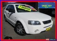 2007 Ford Territory SY SR (4x4) White Automatic 6sp A Wagon for Sale