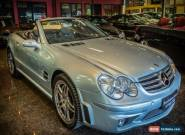 2005 Mercedes-Benz SL R230 65 AMG Diamond Silver Automatic 5sp A Convertible for Sale