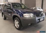 2003 Ford Escape BA Limited Blue Automatic 4sp A Wagon for Sale