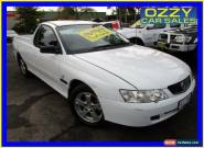 2002 Holden Commodore VY S White Manual 5sp M Utility for Sale