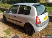 2002 02 RENAULT CLIO 1.2 DYNAMIQUE 16V 3D 75 BHP for Sale