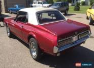 Mercury: Cougar XR7 for Sale