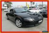 Classic 2000 Audi TT MY99 Black Manual 5sp M Coupe for Sale